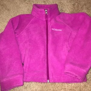 Columbia Pink Fleece Jacket